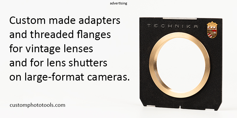custom made adapters for vintage lenses