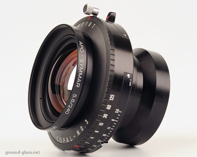 Schneider APO Symmar 240 f/ 5.6 large format photo lens